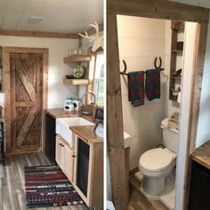 A simple 20-foot shipping container is transformed into the perfect cabin getaway with charming results! With sleeping spots for up to three guests, the...