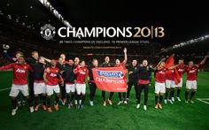 2013 Champions...The Red Devils do it for the 20th time....