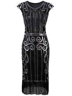 Vijiv 1920s Vintage Inspired Sequin Embellished Fringe Lo... https://smile.amazon.com/dp/B01J7JHCDC/ref=cm_sw_r_pi_dp_x_KtPGybHBAM57N