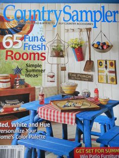 59 best Country Sampler Magazine ♢ images on Pinterest | Country ...