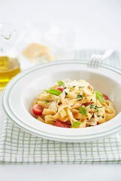 Tagliatelle a la cardinale Cantaloupe, Food Porn, Fruit, Ethnic Recipes, Tagliatelle, Treats