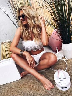 Say goodbye to body hair and hello to summer with this permanent hair removal tool by Remington. An absolute Must for any beach babe.