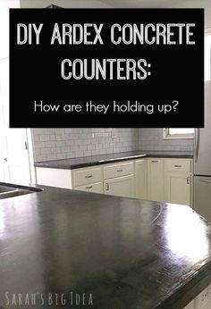 How durable are Ardex concrete counters?
