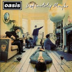 Michael Spencer Jones has revived his original cover art from the 1994 Oasis album 'Definitely Maybe' in this striking archival inkjet reproduction. An album that shaped a generation, the now iconic cover image has taken on a cult status: so familiar, Rock And Roll, Pop Rock, Beatles, Noel Gallagher, Liam Gallagher 1994, Music Album Covers, Music Albums, Lps, Michael Stipe