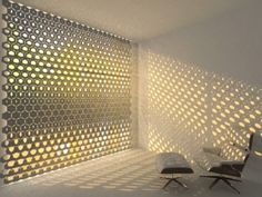 The HEX Curtain by Rael San Fratello Makes a Kinetic Light Show Out of Your Window