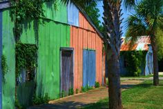 Travel Photography Apalachicola Patchwork by PetitePastiche, $30.00