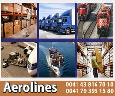 AEROLINES will strive to be the main operating partner of our Customers Service Chain supporting global needs.   For details Log on to : www.aerolines.ch