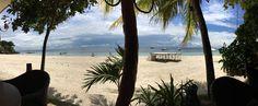 Not so crowded, fresh air & all sun at Alona beach! Bohol's longest shore line. Bohol, Night Time, Tropical, Fire, Sun, Unique, Beach, Outdoor Decor, The Beach