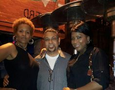 Ramona, Billy T and of course me, lol! Hanging out at TV Lounge for me and Ramona's b day!