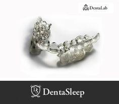 DentaSleep anti- snoring appliance patented by DentaLab