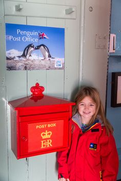 Antarctica with kids - The penguin post office at Port Lockroy