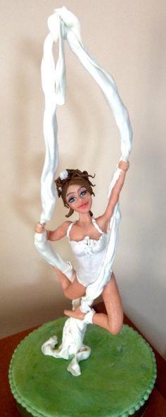 La mia acrobata  - Cake by Daniela