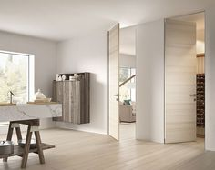 the pull and push door concept mixing style and technology