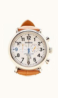Made in Detroit.  Shinola Chrono watch
