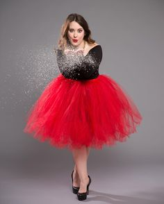 We're mad proud of the #holidayphotos we took for our #makeupartist @meggdoesmakeup! #holidays #snow #chicagophotographer #chicagophotostudio #redtutu #tulle #happyholidays