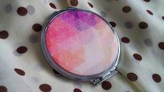 Zrkadielka - Zrkadielko kabelkové v pastelových tónoch