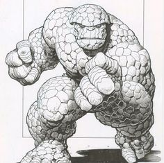 The Thing by Art Adams