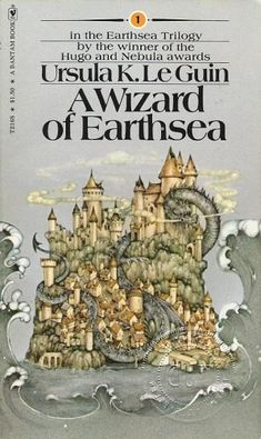 "#Books ""A Wizard of Earthsea"" by Ursula K Leguin"