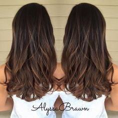 balayage, long hair, hand painting, brunette, caramel, highlights, curls, ombre, color melting #cuttingloosect 2016