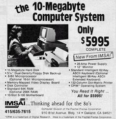 Retronaut - 10MB Computer  only $5995