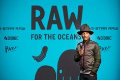 http://chicerman.com  billy-george:  Pharrell Williams has become a co-owner of G-Star RAW  This partnership comes after two years of collaboration between G-Star and Pharrells company Bionic Yarn on the RAW for the Oceans collection transforming recycled ocean plastic into denim. During this collaboration it became apparent that we have a rare connection when it comes to design and with our shared pursuit for constant innovation the decision to take our partnership even further was a…