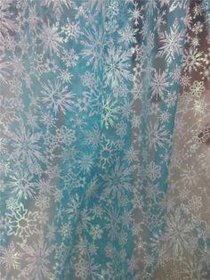 Tüll & Organza - Eiskönigin, Elsa, Disney Eiskönigin, Elsa stoff - ein Designerstück von Kimi-LacePlace bei DaWanda