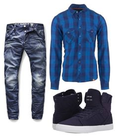 """#88"" by annavellucci on Polyvore featuring Ortovox, G-Star Raw, Supra, men's fashion e menswear"