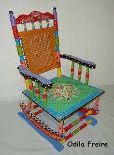 cadeira de balanço da Noemi by odilafreire, via Flickr