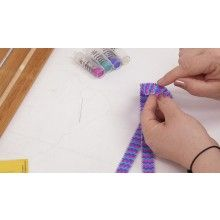 How to Attach Loom Pieces for Longer Projects