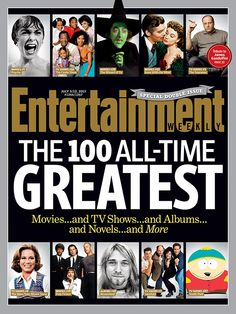 This Week's Cover: The 100 All-Time Greatest… everything!
