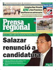 Prensa regional 29 set