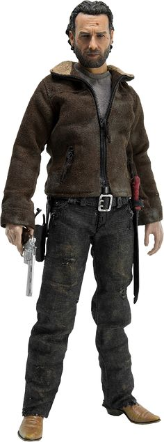 The Walking Dead Rick Grimes Sixth Scale Figure by Threezero | Sideshow Collectibles