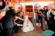 Great Escapes - newlyweds' formal departures from weddings | Be A Bride Blog