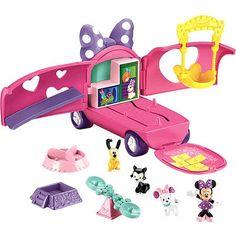 Fisher-Price Minnie's Precious Pets Tour Van