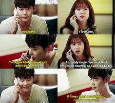 W – Two Worlds this is so sweet, I mean both of them hehee Lee Jong Suk, Jung Suk, W Kdrama, Kdrama Memes, Korean Drama Funny, Korean Drama Quotes, W Two Worlds, Between Two Worlds, World Quotes