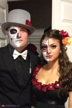 Dia de Los Muertos Costume - Photo 2/3.... me and adam can do a couples costume one day like this...