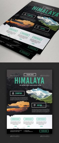 Travel / Adventure Package Flyer by Comodensis 1. 1 PSD Files2. Smart Object 3. 300 dpi 4. CMYK 5. 303脳216 mm 6. Easy to use 7. All text editable with text tool Images not incl