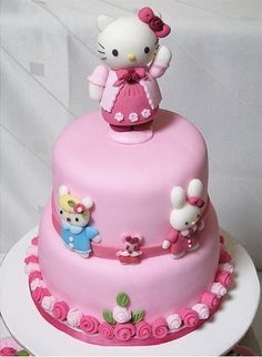 Hello Kitty Cake, How fab is this?!