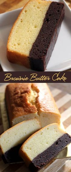 Brownie Butter Cake