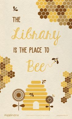 Springtime Reading Posters and Displays Library Posters, Library Quotes, Reading Posters, Library Lessons, Book Posters, Book Quotes, Bee Bulletin Boards, Reading Bulletin Boards, Bulletin Board Display