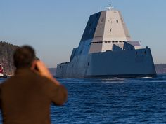 US Navy Launches the Tesla of Destroyers - The Drive