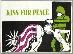 Anti-Vietnam war poster by Tomi Ungerer