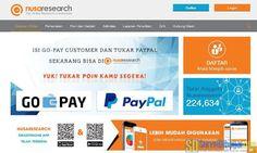 Penukaran Poin Nusaresearch Kini Bisa Menggunakan PayPal #Paidsurvey