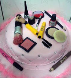 #Bolo #makeup #Maquiagens #Cake #Fondant