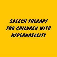 In this episode of the Speech and Language Kids Podcast, speech-language pathologist Carrie Clark discusses how to do speech therapy with a child who has hypernasality (or too much resonance in the nasal cavity) when they speak. Notes: ***First, determine if there is a