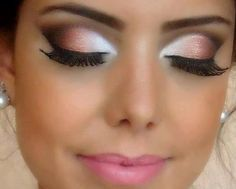 Makeup Ideas Wedding Makeup Two Colors Shade Eyeshadow Applying Wedding Makeup For Your Special Day In Your Life