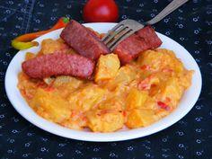Makacska konyhája: Lecsós krumplifőzelék