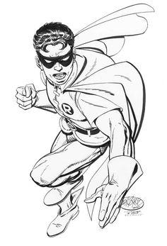 Robin commission by John Byrne