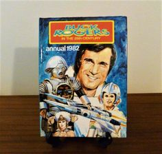 """Vintage 1982 Buck Rogers """"In The 25th Century"""" Annual 1982 Published by Stafford Pemberton / Retro Hard Cover Based on TV Series by V1NTA6EJO"""