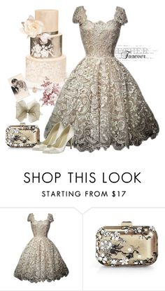 """""""Vintage inspiration"""" by molly2222 ❤ liked on Polyvore featuring Jimmy Choo, Pink Paradox London and vintage"""